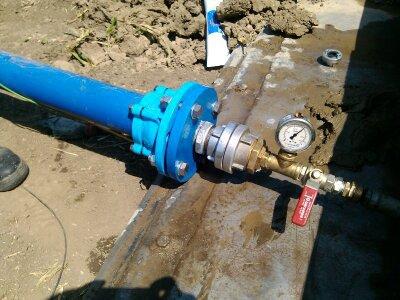 Tlakové zkoušky kanalizace